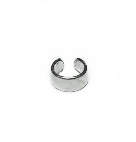 Кафф плоский - размер мини, серебро 925 фото 1 Аmorem