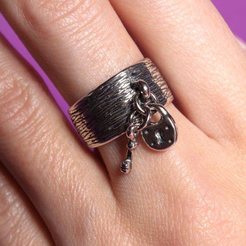 Кольцо Секрет, серебро 925 фото 1 Аmorem
